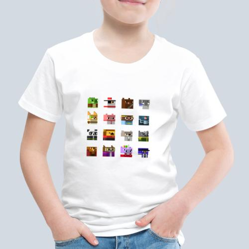 A Planet of Mine Animals - T-shirt Premium Enfant