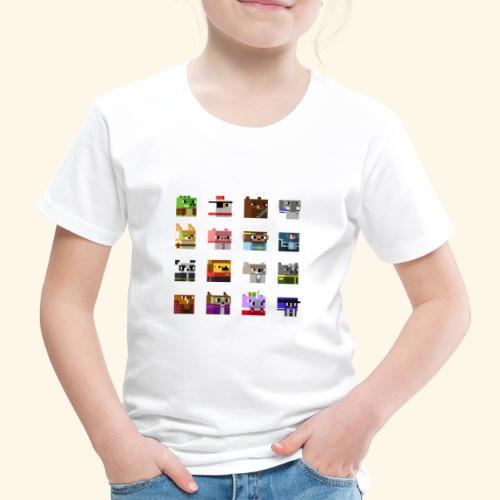 A Planet of Mine Animals - Kids' Premium T-Shirt