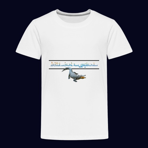 nicht ansprechen 2 - Kinder Premium T-Shirt