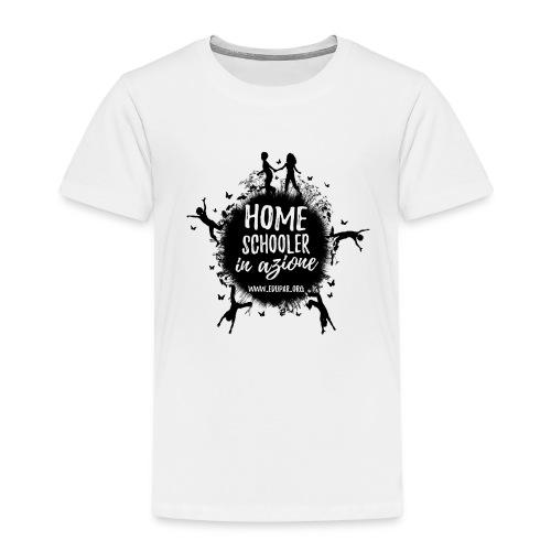 Homeschooler in azione - Maglietta Premium per bambini
