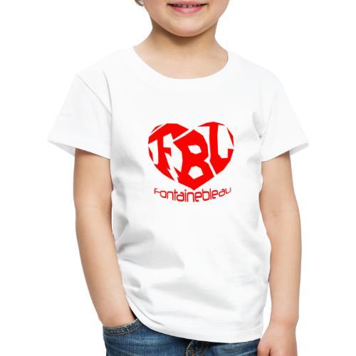 Coeur de Fontainebleau - T-shirt Premium Enfant