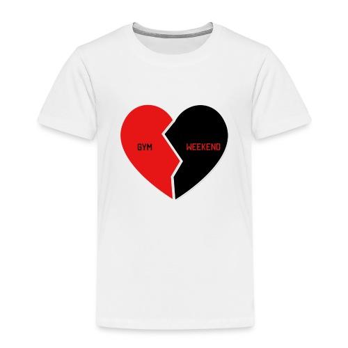 Heart for Gym - Kinder Premium T-Shirt