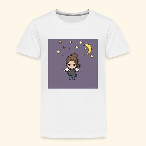 Mädel im Mondlicht - Kinder Premium T-Shirt