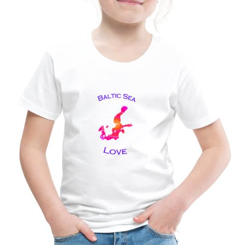 BalticSea Love pink c - Kinder Premium T-Shirt