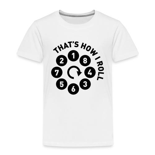Rolling the V8 way - Autonaut.com - Kids' Premium T-Shirt