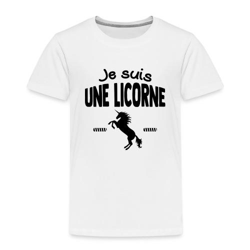 Je suis une licorne - T-shirt Premium Enfant