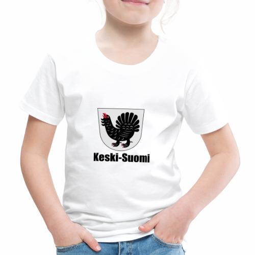 Keski-Suomi vaakuna tuote - Lasten premium t-paita