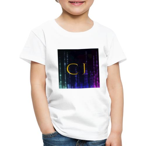 CJ Logo Merchandise - Børne premium T-shirt