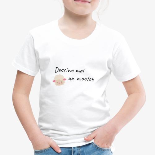 dessine moi un mouton - T-shirt Premium Enfant