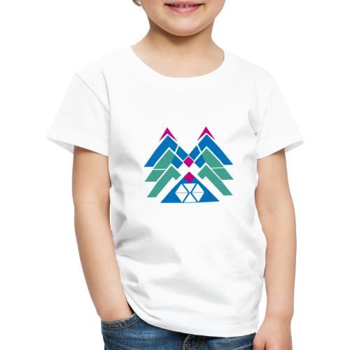M e m astratte - Maglietta Premium per bambini