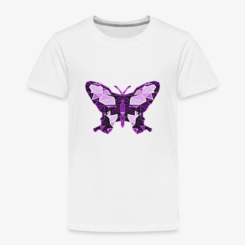 Fioletowy motyl - Koszulka dziecięca Premium