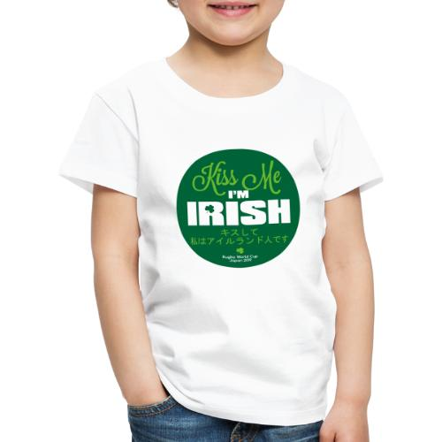 Kiss Me I'm Irish Rugby World Cup 2019 - Kids' Premium T-Shirt