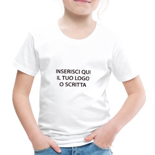 PERSONALIZZAZIONE - Maglietta Premium per bambini