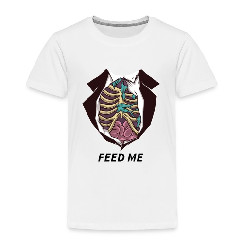 feed me zombiebauch - Kinder Premium T-Shirt