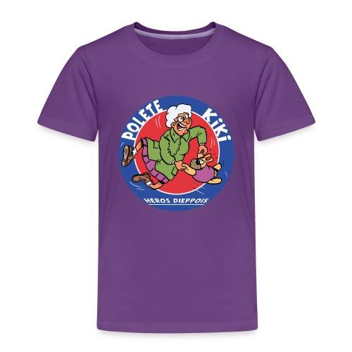 tshirt polete heros dieppois 2 - T-shirt Premium Enfant