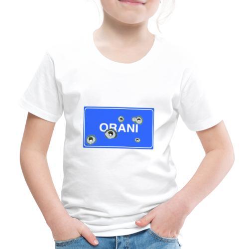 Cartello Orani blu - Maglietta Premium per bambini