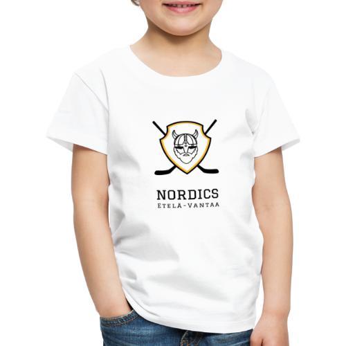 Etelä-Vantaan Nordics - Lasten premium t-paita