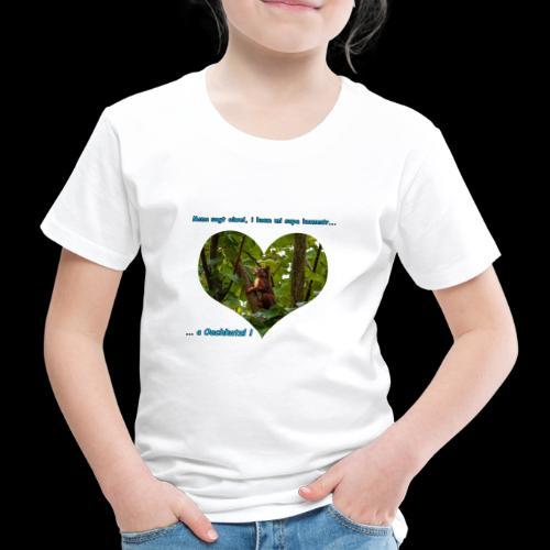 Oachkatzl hellblau - Kinder Premium T-Shirt