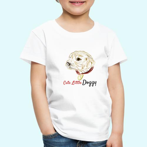 Cute Little Doggy - Kinder Premium T-Shirt