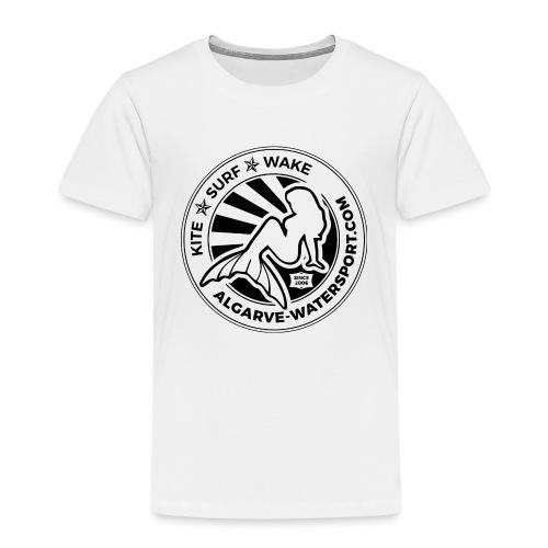 AWS mermaid round beams - Kids' Premium T-Shirt