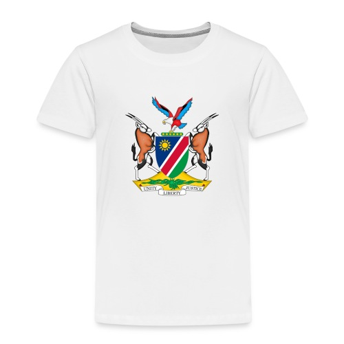 Namibia Coat of Arms - Kinder Premium T-Shirt