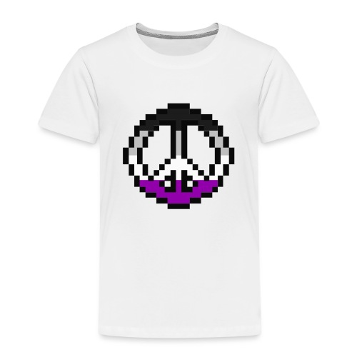 asexual pacific stripe - Kinder Premium T-Shirt