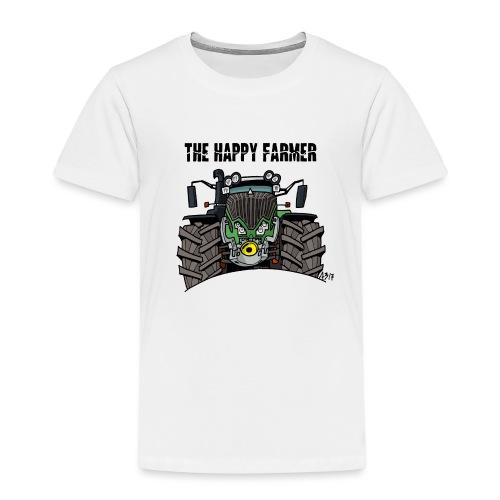 the happy farmer green - Kinderen Premium T-shirt