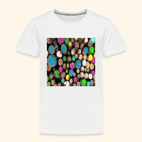 Tronchi colorati - Maglietta Premium per bambini