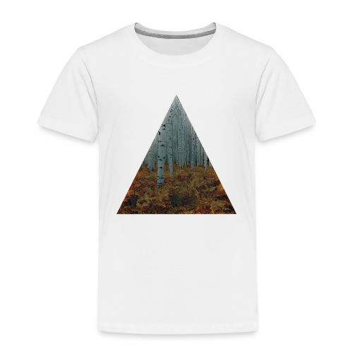 triangle/foret - T-shirt Premium Enfant