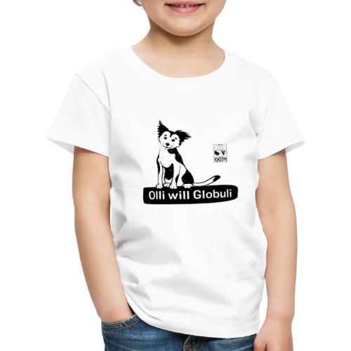 Hund Olli transparent - Kinder Premium T-Shirt