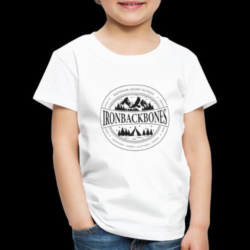 Outdoor-Sport-Schule IRONBACKBONES - schwarz - Kinder Premium T-Shirt