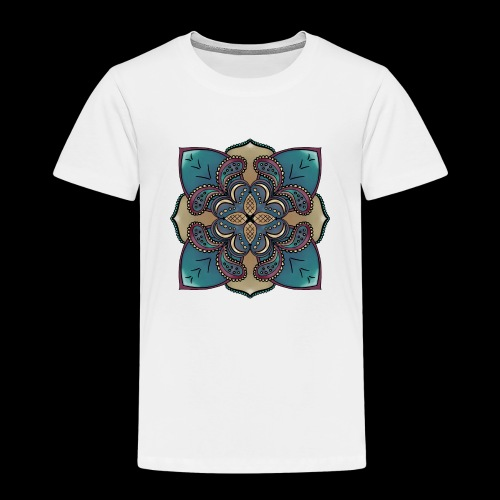 cute Mandala style design - Kids' Premium T-Shirt