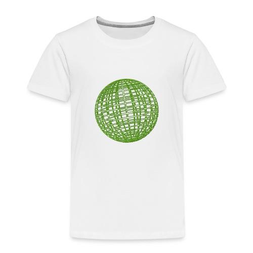 Grüne Kugel - Kinder Premium T-Shirt