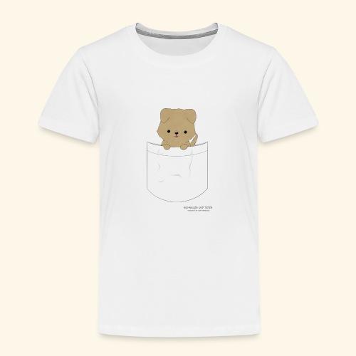 Hund in Tasche - Kinder Premium T-Shirt
