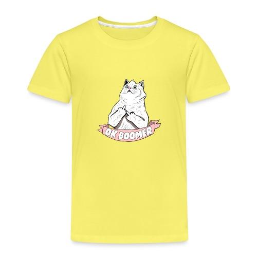 OK Boomer Cat Meme - Kids' Premium T-Shirt