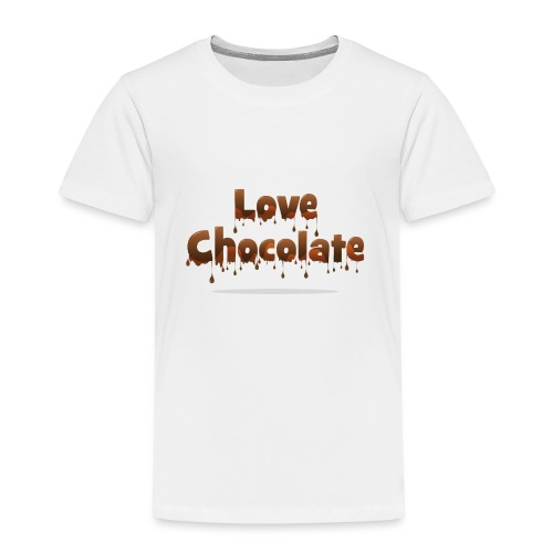Love Chocolate - Kids' Premium T-Shirt