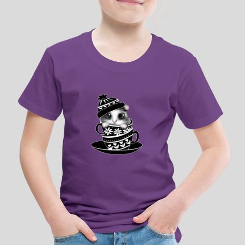 Schwarze Tiere - Kinder Premium T-Shirt