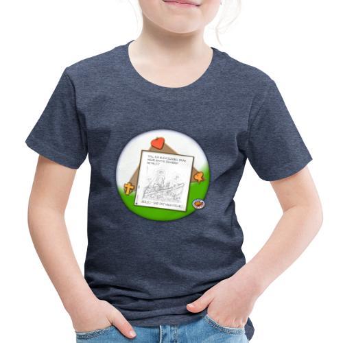 Petrus trifft Jesus - zu viele Fische ! - Kinder Premium T-Shirt