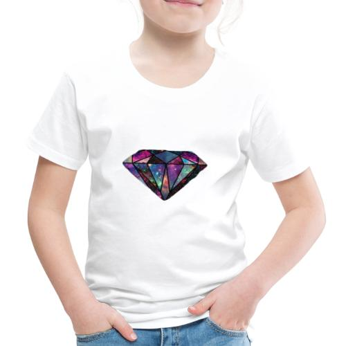 Colourful Diamond - Kinder Premium T-Shirt