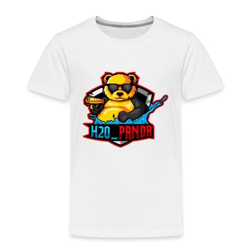 Pandas Loga - Premium-T-shirt barn