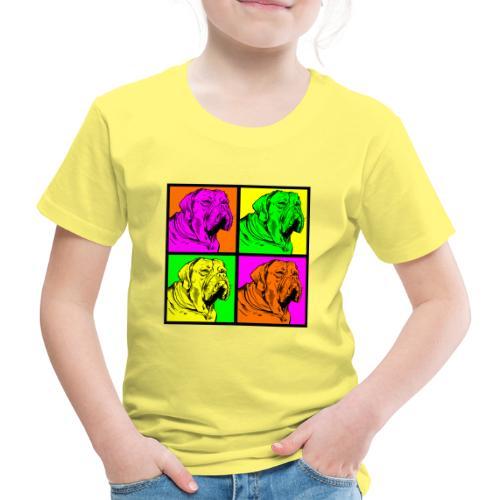 Bouledogue Anglais Couleur - T-shirt Premium Enfant
