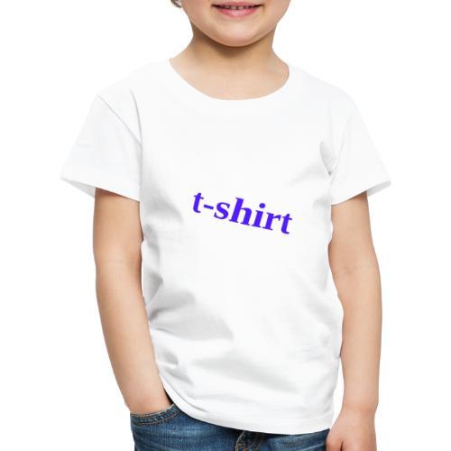 Hemd - Kinder Premium T-Shirt