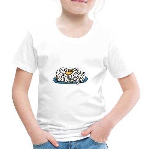 Carbonara Nudeln - Kinder Premium T-Shirt