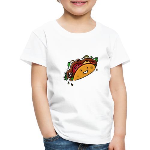 Glücklicher Taco - Kinder Premium T-Shirt