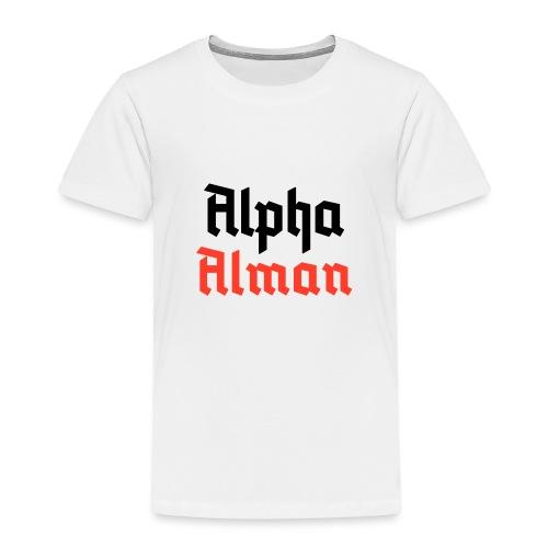 Alpha Alman - Kinder Premium T-Shirt