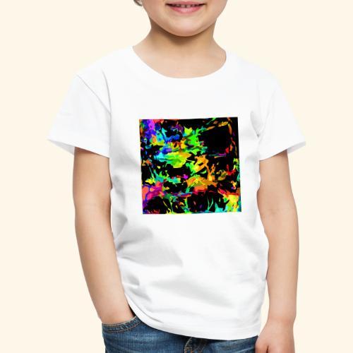 Fiamme colorate - Maglietta Premium per bambini