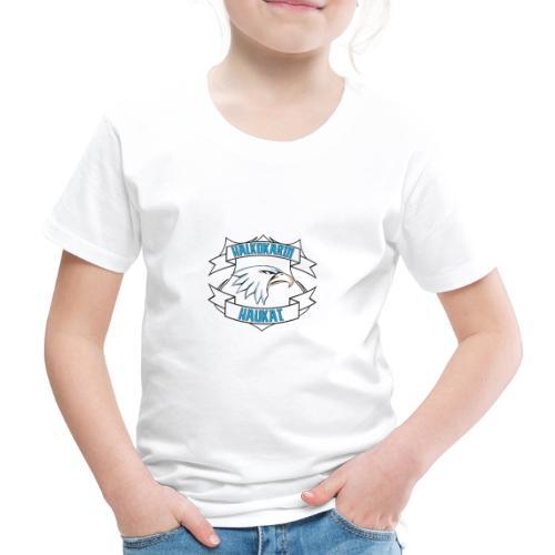 Halkokarin Haukat - Lasten premium t-paita