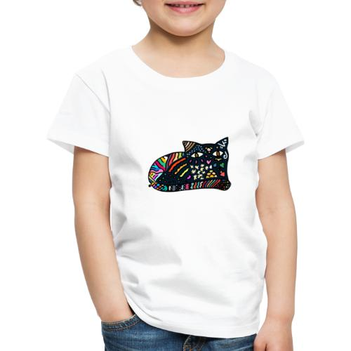 Chat Onirique - T-shirt Premium Enfant