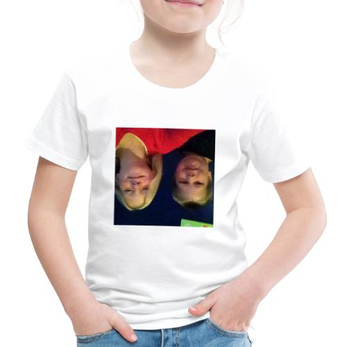 Gammelt logo - Børne premium T-shirt