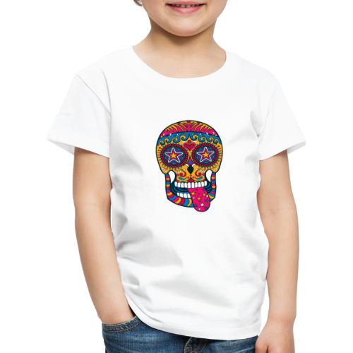 Mexican Skull - Maglietta Premium per bambini